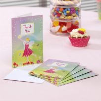 Fairy Princess Thank You Cards (10)